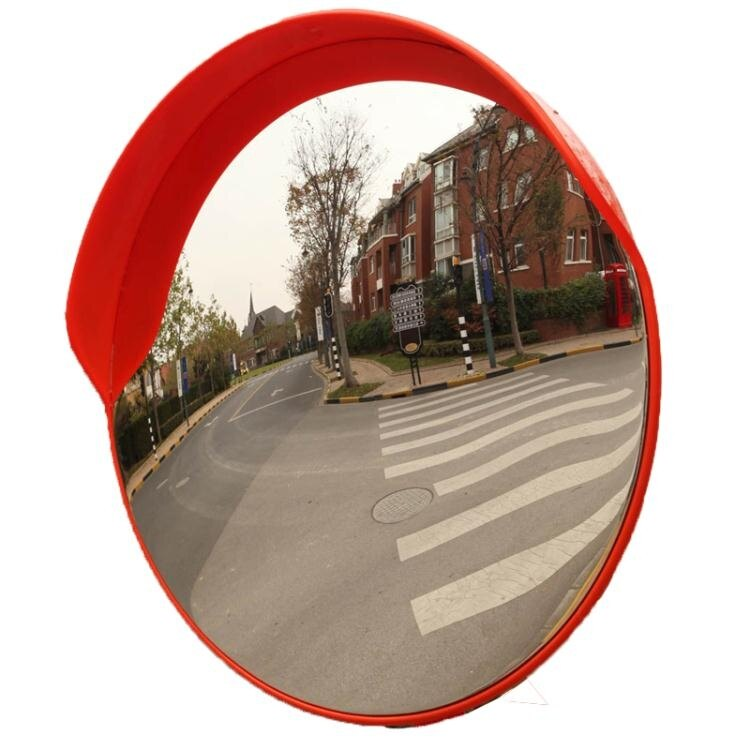 【快速出貨】交通廣角凸面反光鏡路口道路廣角鏡凸球面鏡轉角彎鏡凹凸鏡防盜鏡創時代3C 交換禮物 送禮