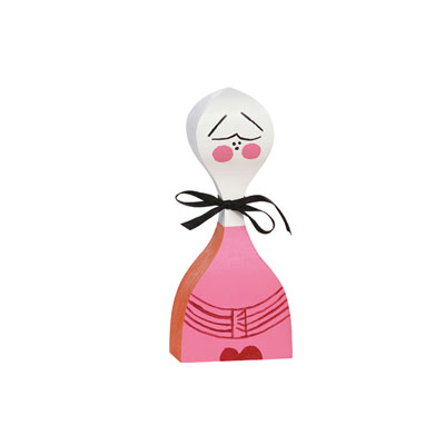 Wooden Doll 手繪常民藝術木偶 No.2
