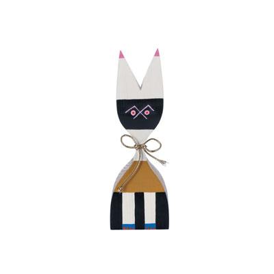 Wooden Doll 手繪常民藝術木偶 No.9