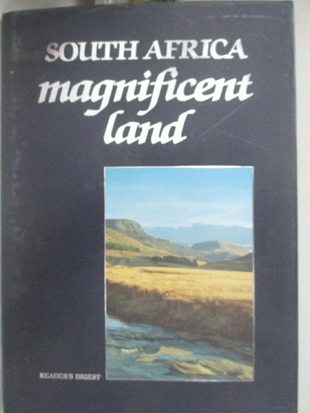 【書寶二手書T3/攝影_FGQ】South Africa Magnificent Land