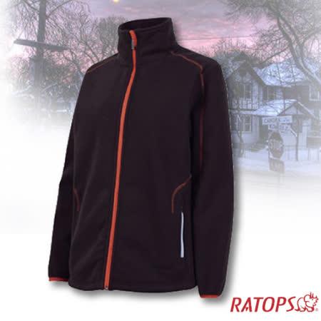 【瑞多仕-RATOPS】女款 DINTEX 抗風防水透氣夾克.輕量保暖外套/ DH6136 正黑色