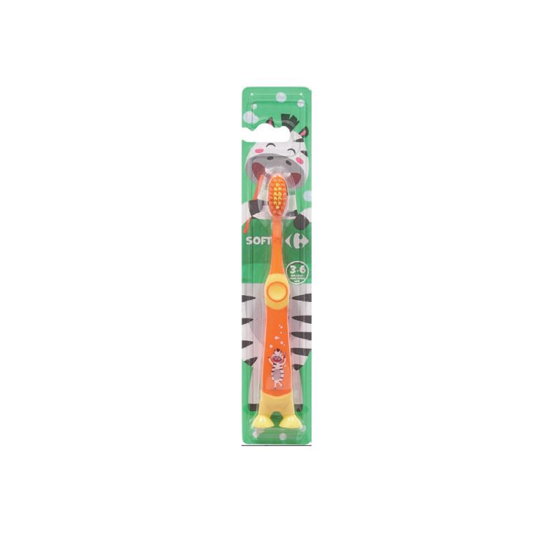 家樂福小朋友SOFT(柔軟) 3-6歲牙刷-1PC