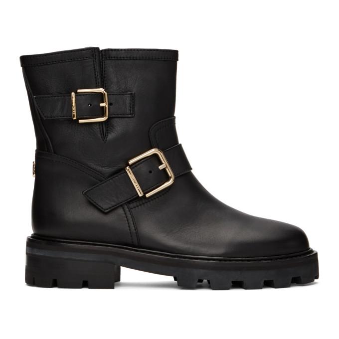 Jimmy Choo 黑色 Youth II 踝靴