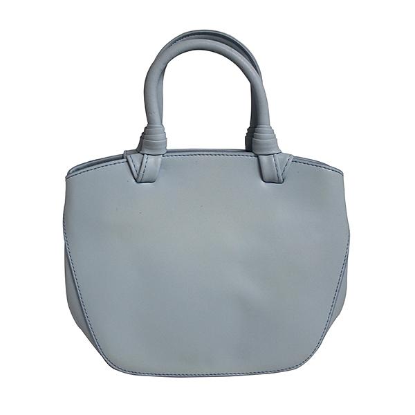 【南紡購物中心】【Dennibella 丹妮貝拉】時尚真皮手提包-藍