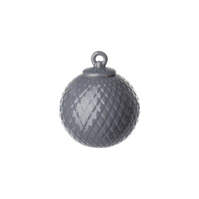 Rhombe 菱紋 吊飾(深灰)