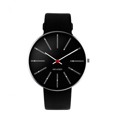 AJ Bankers 腕錶(46 mm、黑)