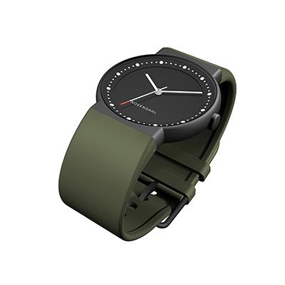 弗來明Watch IV 圓形指針系列腕錶 (軍綠)