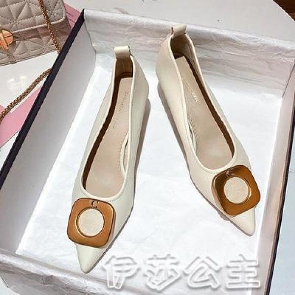 高跟鞋 2020秋季新款高跟鞋單鞋女,貨號2V-371高跟鞋-17 伊莎公主