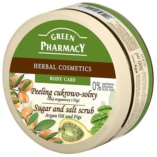 【南紡購物中心】【Green Pharmacy】摩洛哥堅果油&無花果美體去角質霜 300ml