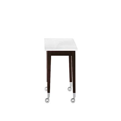 Neoz 大理石滾輪咖啡桌(30 x 30 cm)