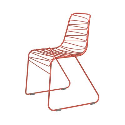 Flux 兩筆畫椅(鮮紅)