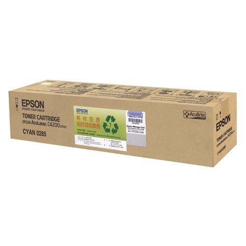 EPSON 藍色原廠碳粉匣 / 個 C13S050285