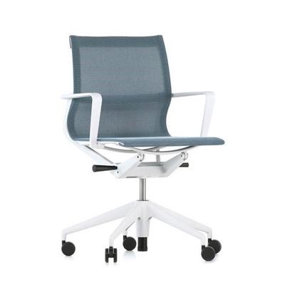 Physix 翩然有序 工作椅(灰白框架、冰灰藍椅身)