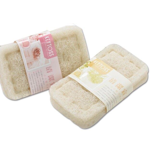 餐具清潔高密度菜瓜布 2入 台灣製 刷鍋子 洗碗 刷水槽 除垢刷 不鏽鋼用 衛浴清潔用 去汙刷 CK7330