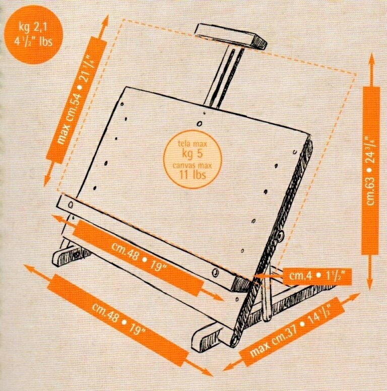 義大利 MABEF 多功能桌上型畫架/書架/陳列架 M34 (無法超商取貨)