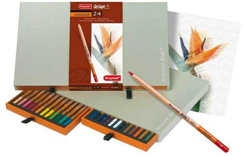 Bruynzeel 24色 專家級油性色鉛筆