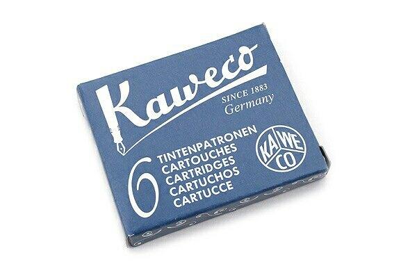 德國KAWECO墨水管黑藍色3盒入