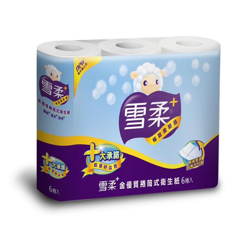 雪柔小捲筒衛生紙(200張/60捲/箱)