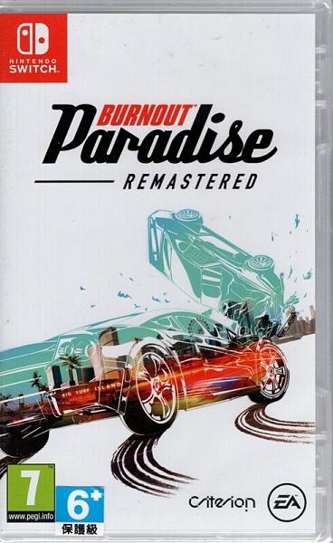 【玩樂小熊】現貨中 Switch遊戲 NS 橫衝直撞 狂飆樂園 重製版 Burnout Paradise 英文版