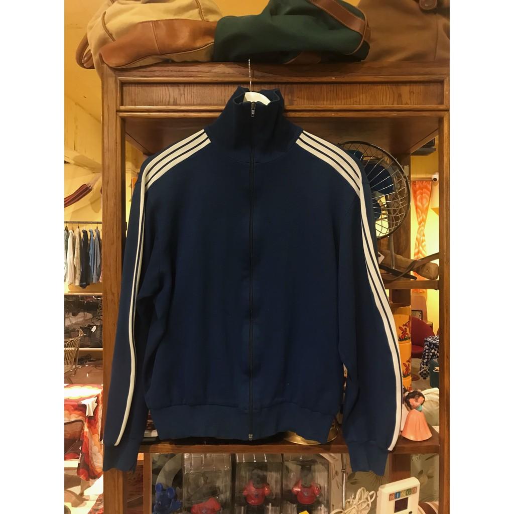 西德製 ADIDAS Tracksuit Top Jacket 愛迪達運動外套 二手 古著70s-80s Vintage