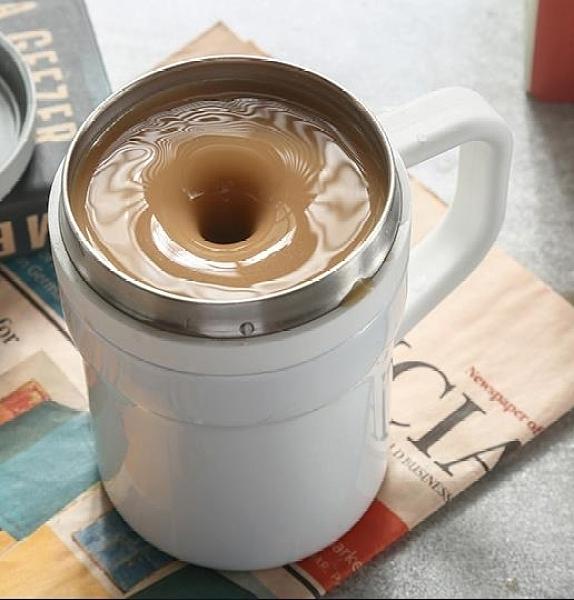 攪拌杯 心工匠二代溫差全自動攪拌杯旋轉便攜咖啡磁力不銹鋼懶人電動降溫