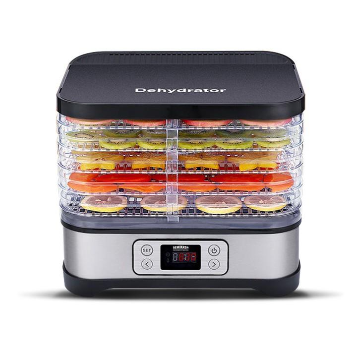 烘乾機 賽米控干果機家用食品烘干機水果蔬菜寵物肉類食物小型風干機