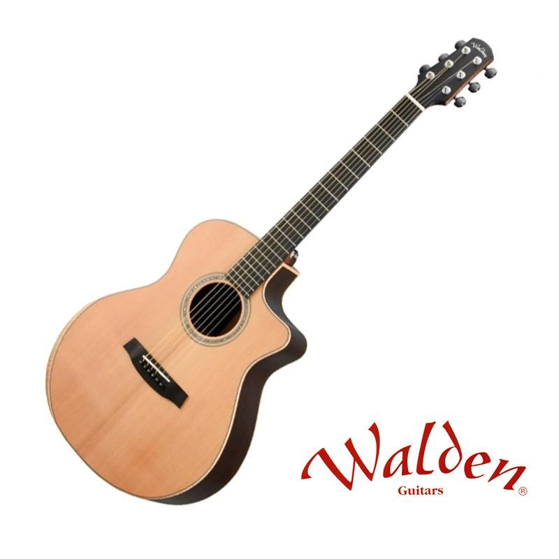 Walden G3030RC/H 紅松面板 玫瑰背側 全單板 40吋 民謠吉他 - 【他,在旅行】