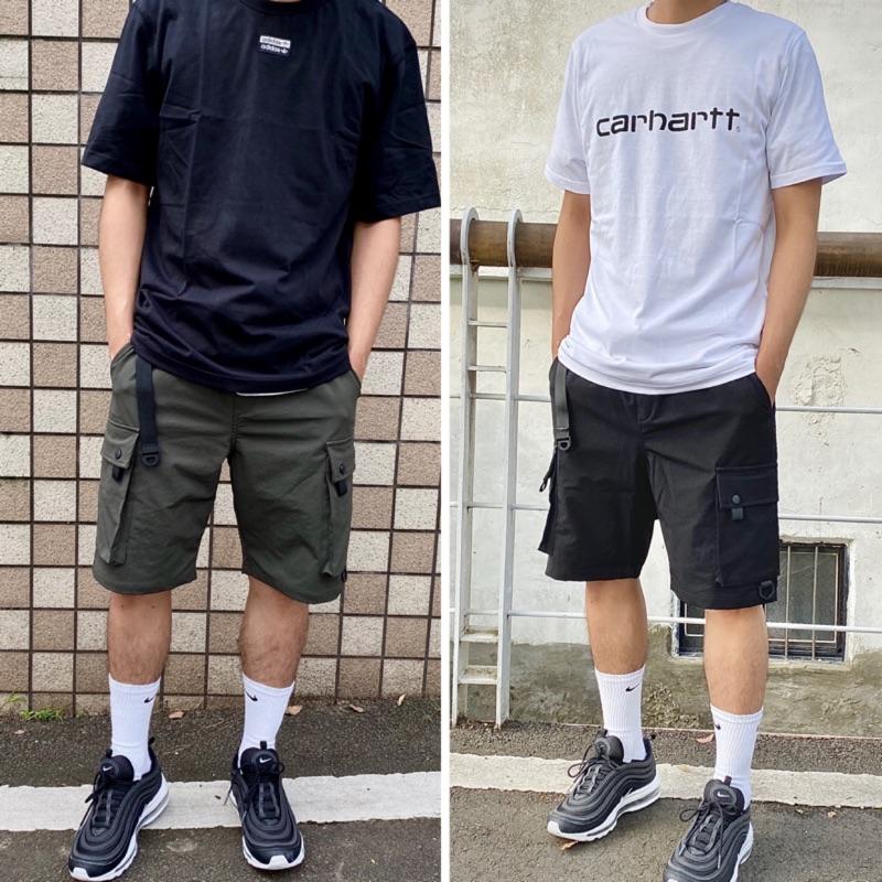 今夏最強短褲-早鳥特價 | 戰術腰帶 山系 登山扣 多口袋 機能彈性短褲 2.0 ( 工作短褲 工裝 休閒短褲