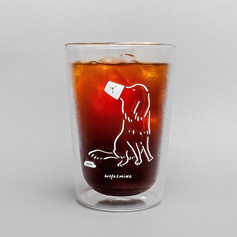 WHOSMiNG × FUSHIMA 雙層玻璃杯 - DOG