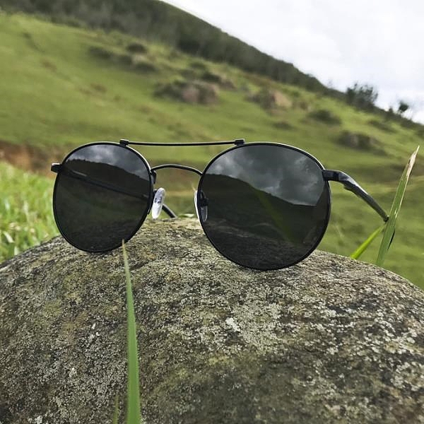 【南紡購物中心】2is JackiD 太陽眼鏡│雙樑小圓│金屬框架│抗UV400
