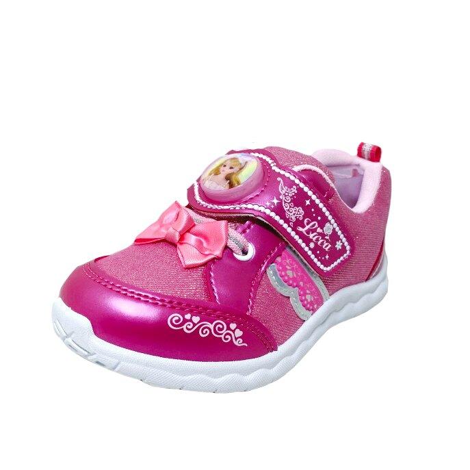 【滿額再折$100】Licca莉卡娃娃 兒童透氣電燈運動休閒鞋 [LCKX00213] 桃粉 MIT台灣製造【巷子屋】
