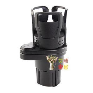 車載水杯架 飲料架多功能空調出風口支架茶杯架汽車內置物盒