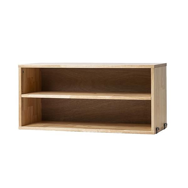 *SOHO橡膠木雙層櫃-生活工場
