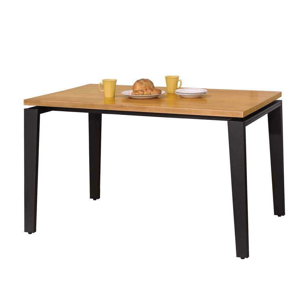 Boden-奈特4.3尺工業風實木餐桌