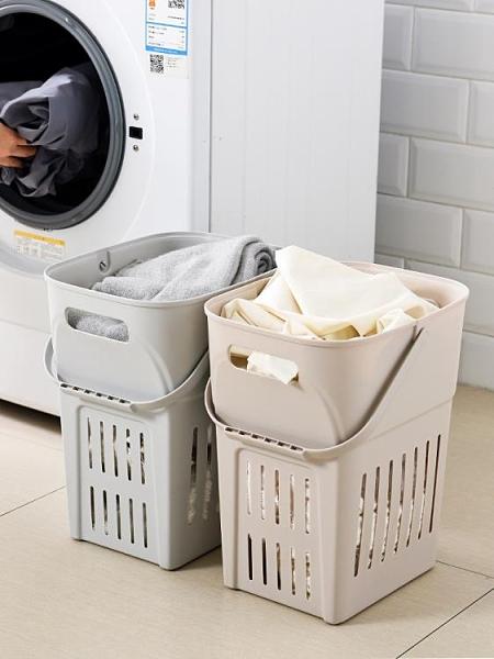 髒衣籃臟衣籃北歐臟衣服收納筐洗衣簍衣物籃子婁桶家用塑料寢室宿舍簍子XL 美物 交換禮物