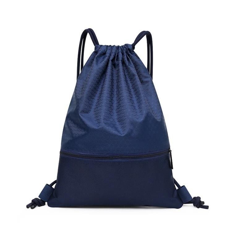 籃球袋 尼龍束口袋雙肩包防潑水運動背包學生足球籃球包大容量輕便定制包  多色小屋