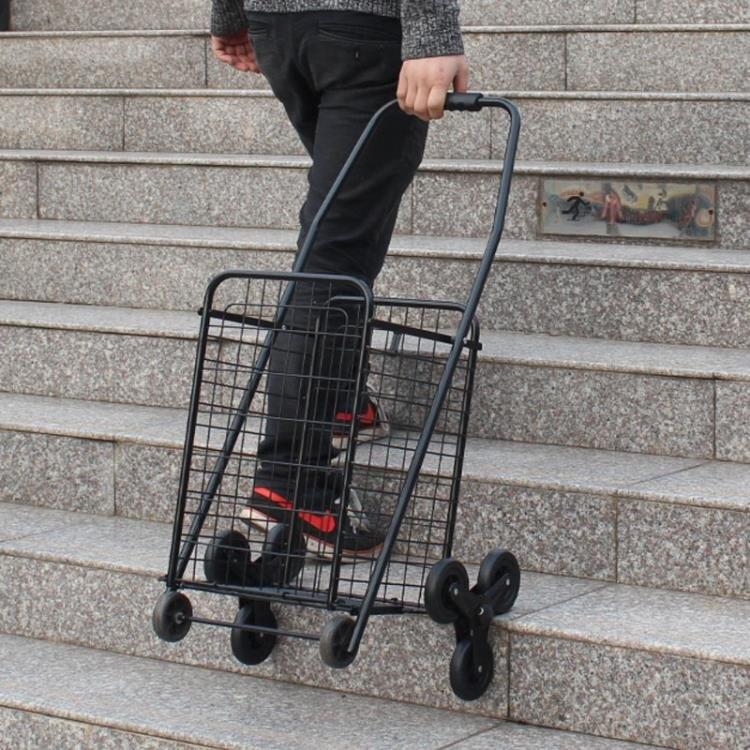 購物車便攜折疊小拉車爬樓買菜車 老年手拉車手推車拉桿行李拖車   新年钜惠