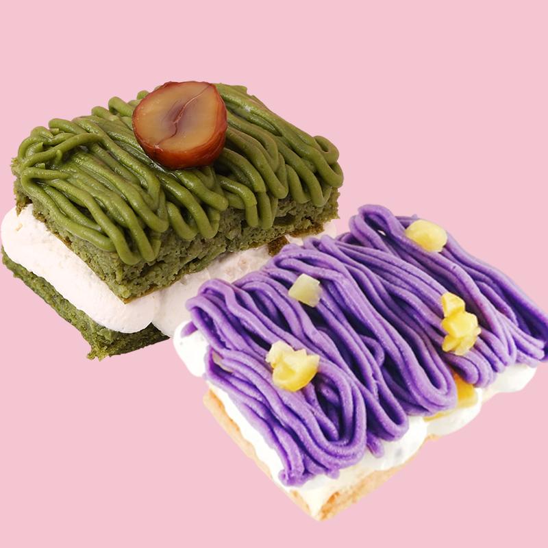 [撒福豆] 無麩質蒙布朗 (4入/盒) (全素)