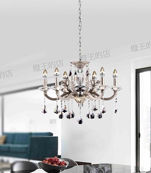【燈王的店】北歐風 水晶吊燈6燈 客廳燈 餐廳燈 吧檯燈 301-98151-1