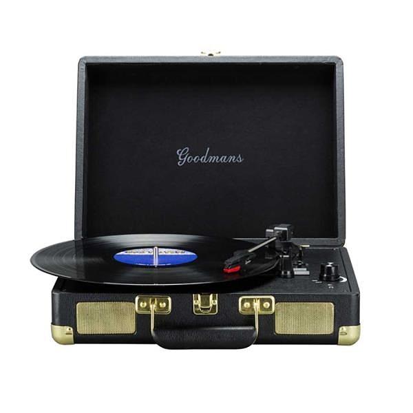 【南紡購物中心】Goodmans Ealing Turntable 英國手提箱黑膠唱片機