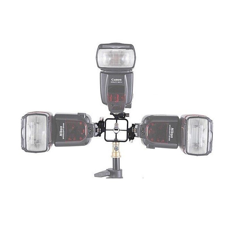 ◎相機專家◎ CameraPro 一轉三熱靴座 轉接座 三向熱靴 支架 閃光燈座 三接頭