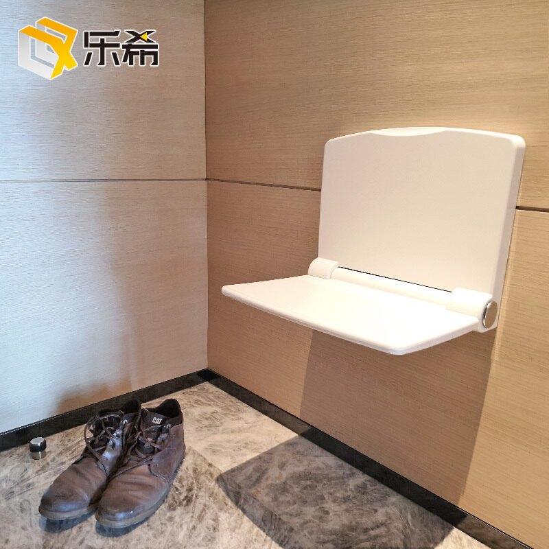 摺疊換鞋凳換鞋椅壁掛式牆摺疊穿鞋凳玄關壁凳椅摺疊淋浴椅沖涼凳WD 至簡元素 全館免運