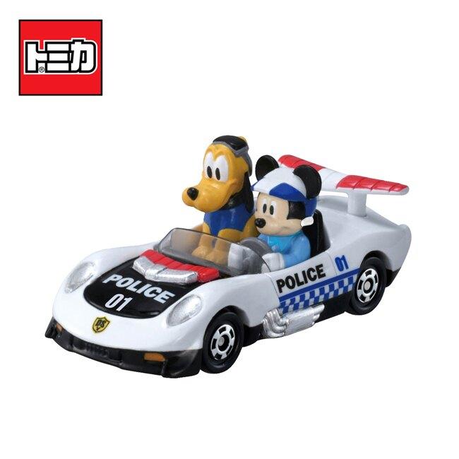 【日本正版】TOMICA 米奇妙妙保衛隊 DS-01 米奇 布魯托 玩具車 迪士尼 多美小汽車 - 142263