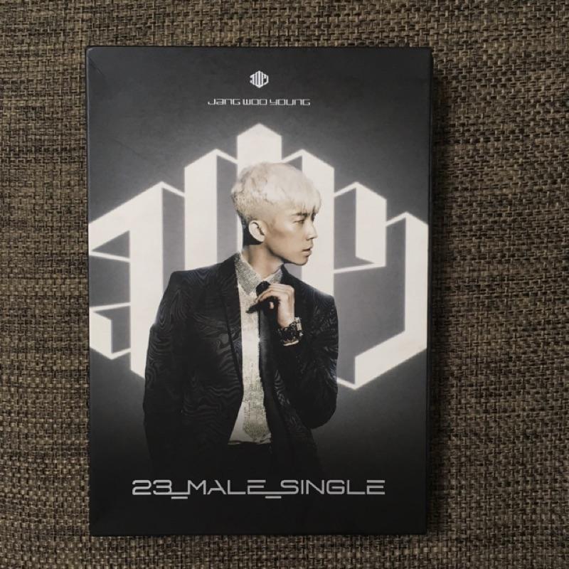 2PM 張祐榮 23_MALE_SINGLE CD+DVD 附寫真 海報