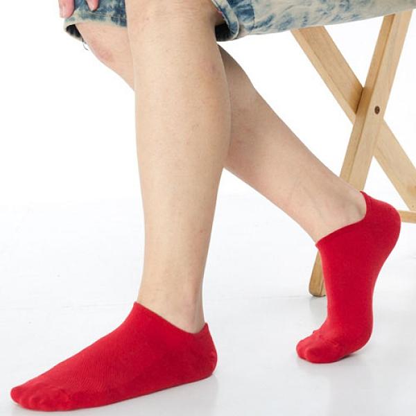 【南紡購物中心】【KEROPPA】可諾帕網狀造型男船襪x4雙C97001紅色