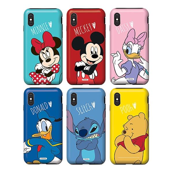 迪士尼 手機殼│雙層殼│S8 S9 S10 S10E S20 Ultra Note8 Note9 Note10 Note20│z8670