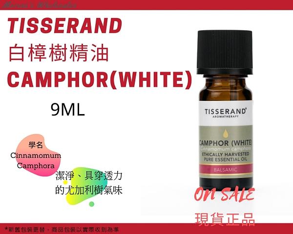 Tisserand 白樟樹精油 Camphor(White) Essential Oil 9ml 現貨正品 快速發貨【Morene】