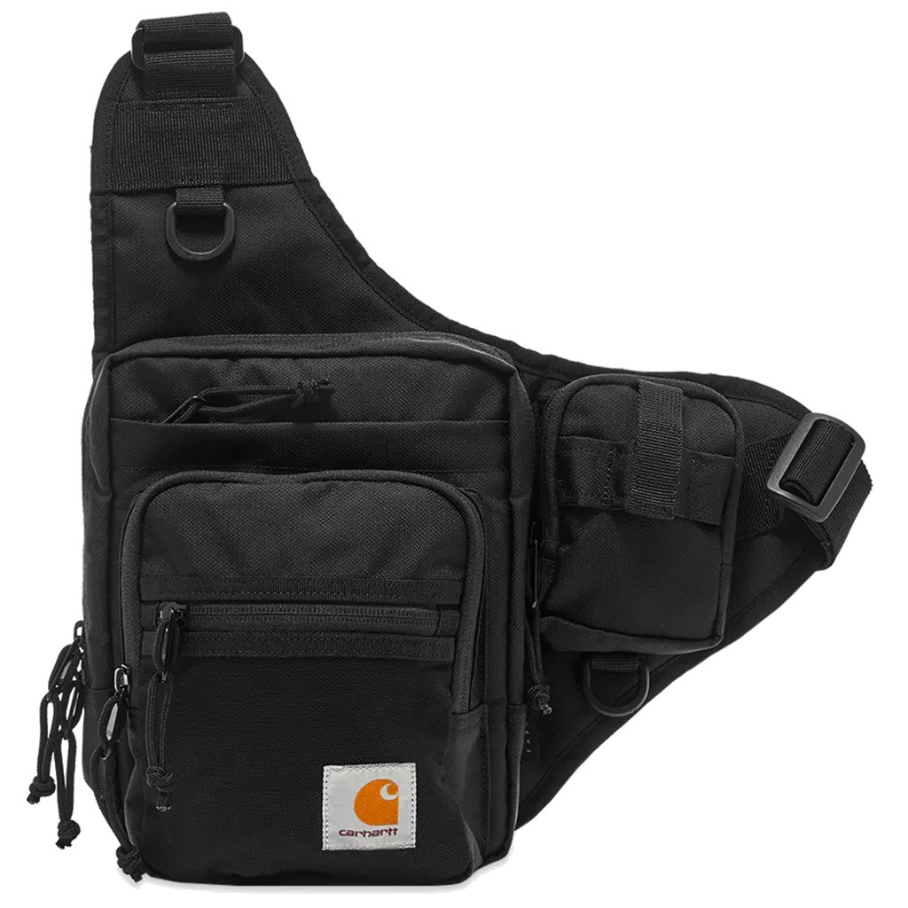 CARHARTT WIP 男女 DELTA SHOULDERBAG 黑【A-KAY0】【I027539-8900】