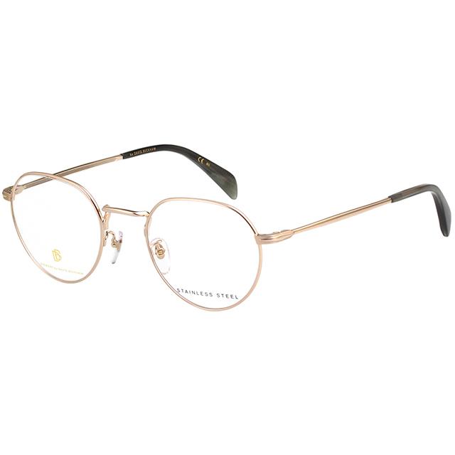 DAVID BECKHAM 貝克漢 光學眼鏡 (金色)DB1023-F6W