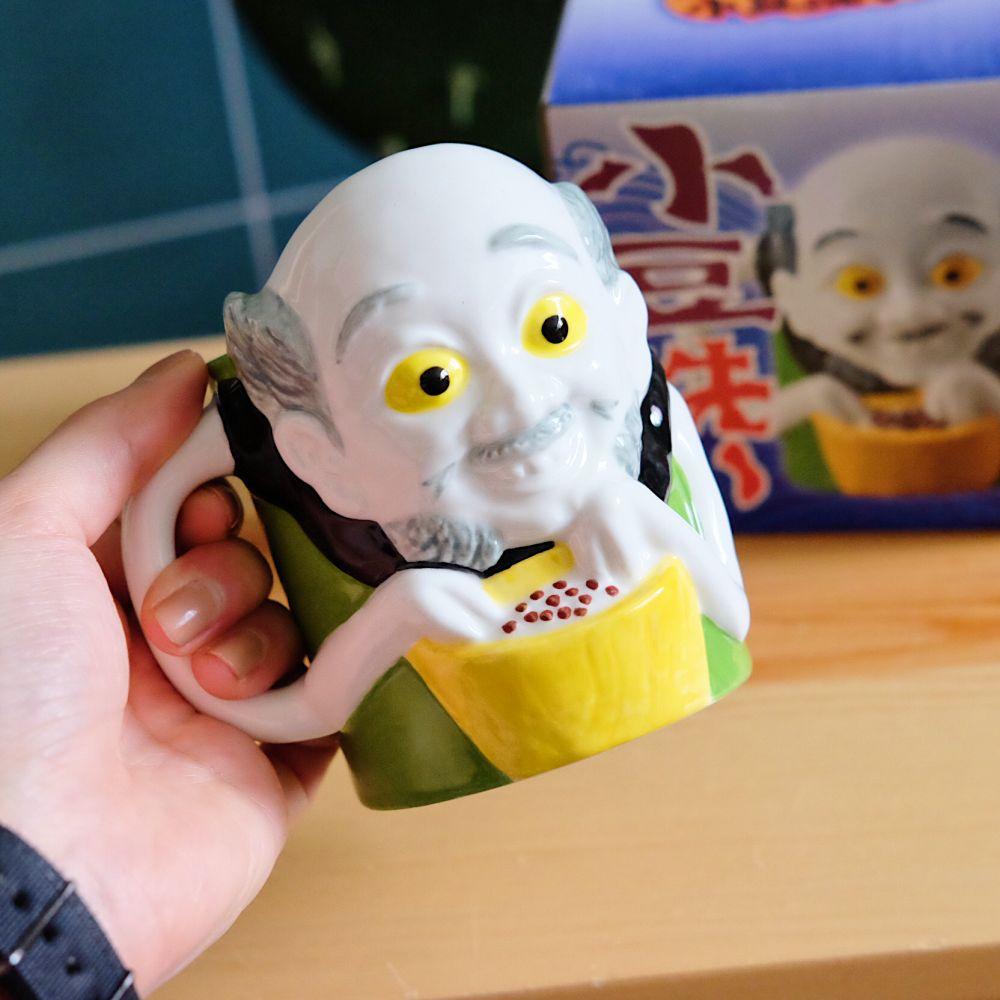 ▍選物研究室 ▍幻想系.小豆洗妖怪馬克杯 小豆淘 洗豆妖 日本妖怪 創意 日本禮品